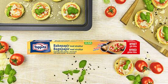 Baking blir lettere med Toppits®