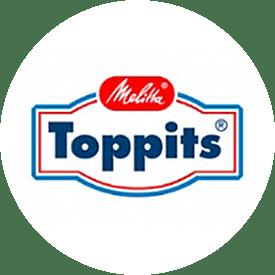 Toppits® logo fra 1988
